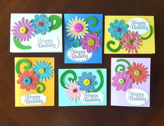 Card Making For Kids Birthday Kit With