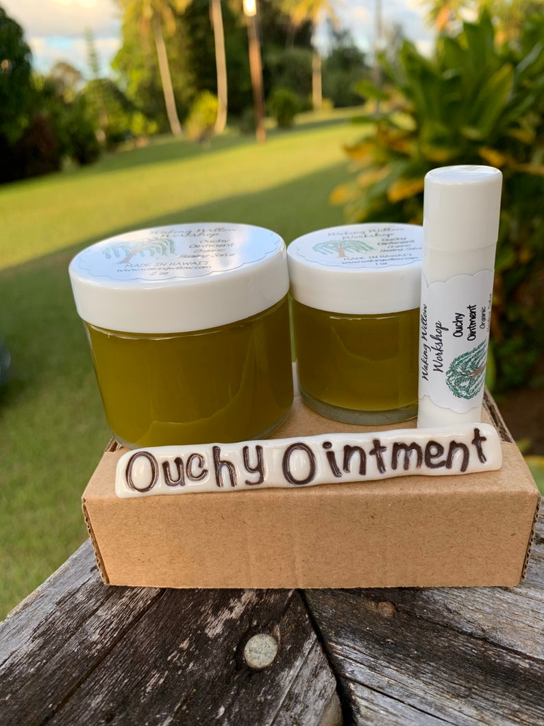 Ouchy Ointment Organic Healing Salve image 0