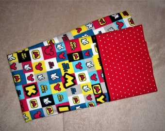 Disney's Mickey Mouse PillowCase (Personalize With Name)