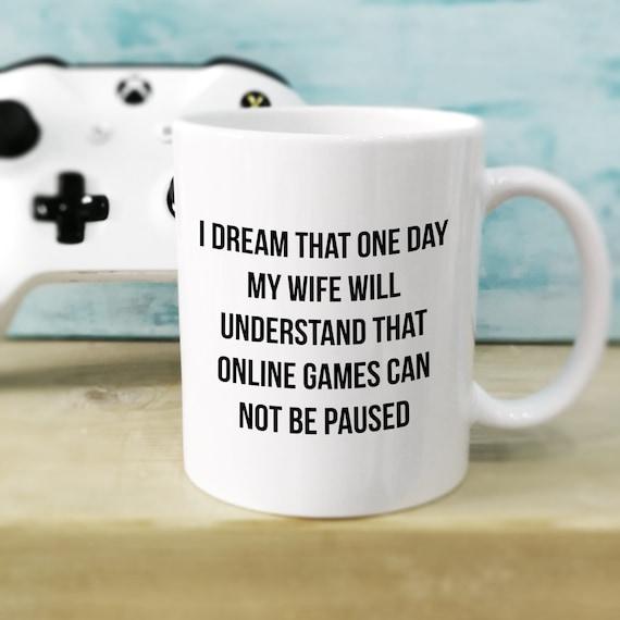 Gamer Gifts For Husband Gaming Mug Nerd