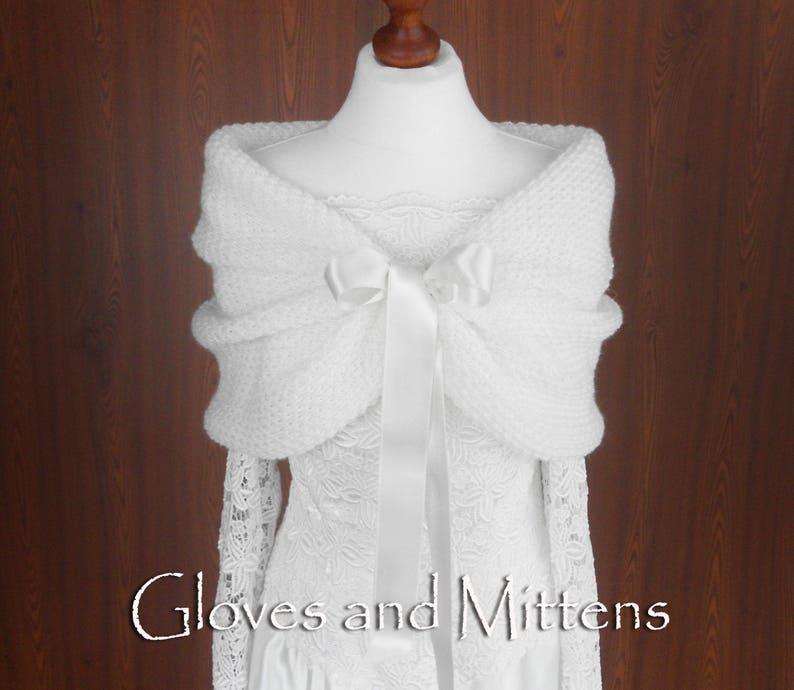 e5dc10e29936 White Wedding Wrap Bridal Shawl Bridal Cover Up Wedding Bolero