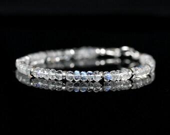 Greek Bracelet Bracelet Beads Birthday Gift Gift for her Gift Bracelet Silver Beaded Bracelet Silver Braceler