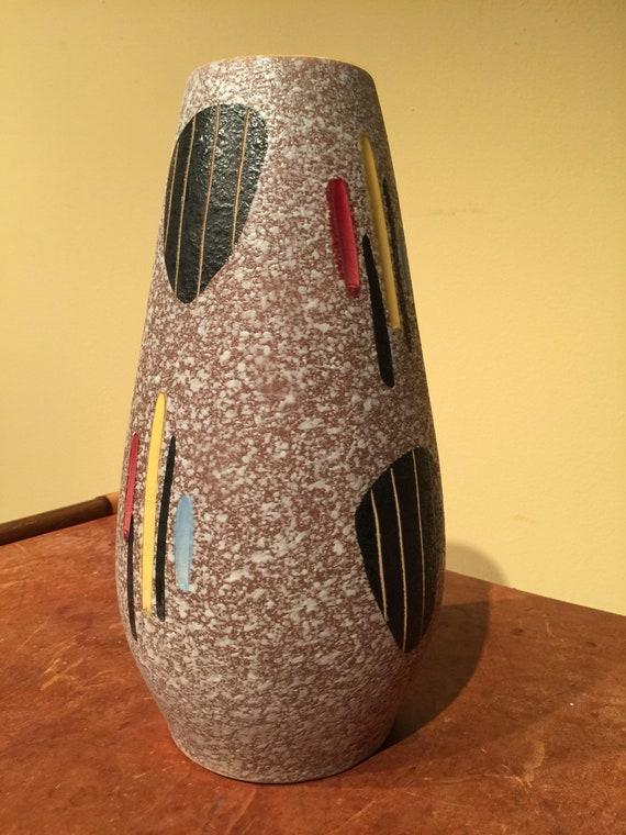 Schuerich Mid Century Modern Vase Etsy