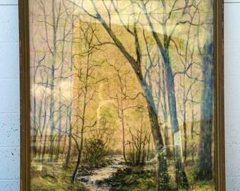Raphael Senseman Original Watercolor Painting