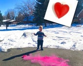 Items Similar To Valentine S Day Gender Reveal Idea On Etsy