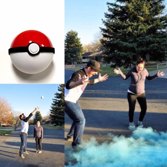 Gender Reveal Ideas Gender Reveal Ball Pokemon Baby Shower ...