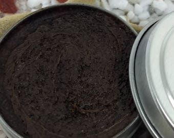 Peppermint Mocha Sugar Lip Scrub, Sugar Scrub, Lip Scrub, Lip Treatment