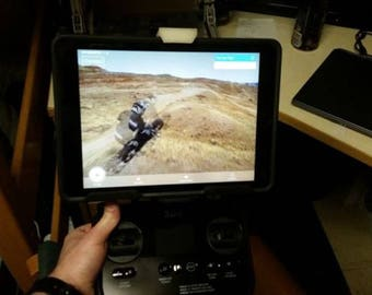 3DR Solo full size Ipad-tablet holder, plus all smaller devices!