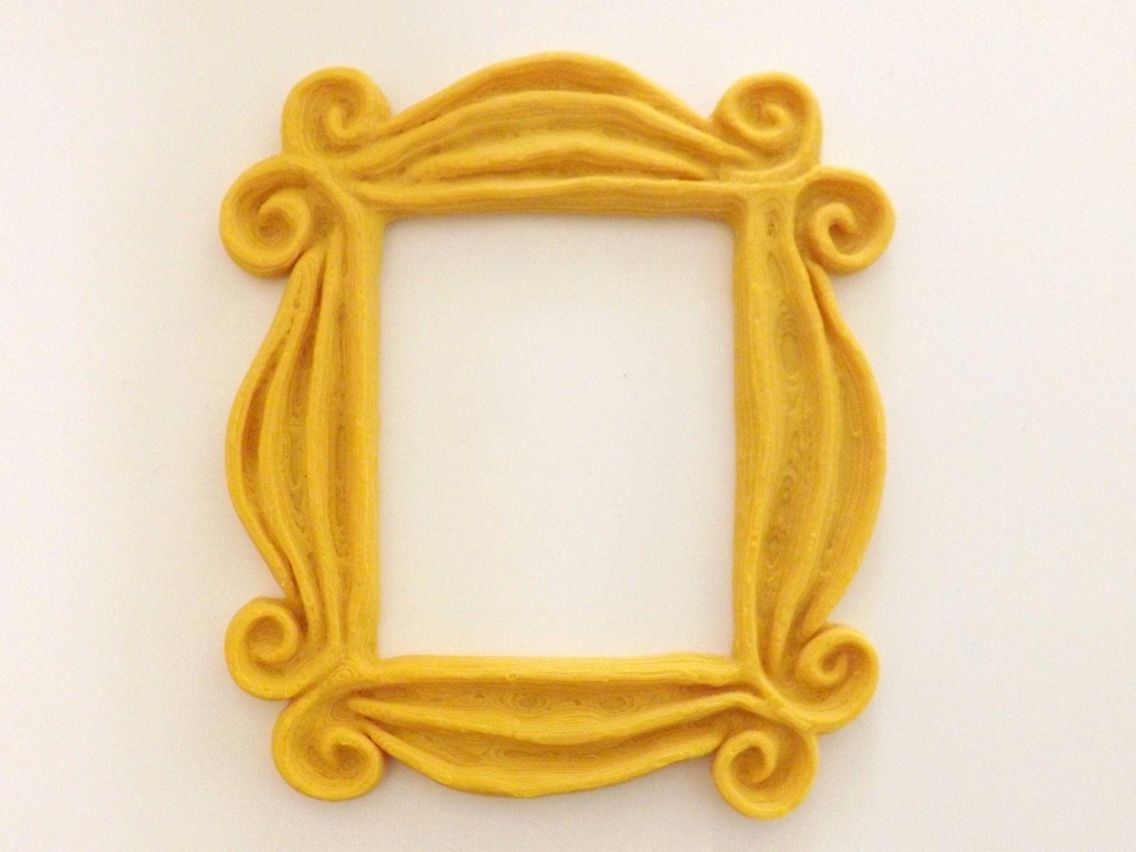 Neue Freunde Rahmen TV zeigen Monica Foto Rahmen Tür gelb 6