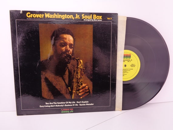 Grover Washington Jr Soul Box Vol 2 Vinyl Record Lp Vg