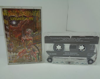 Iron Maiden Somewhere in Time Cassette Tape