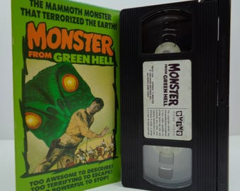 Monster from green hell VHS Tape
