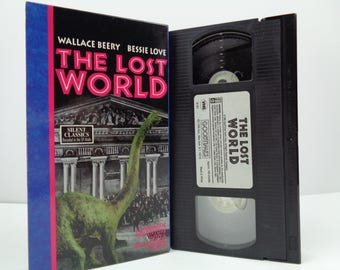 Lost World VHS Wallace Berry 1925