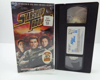 Starship Troopers VHS Tape