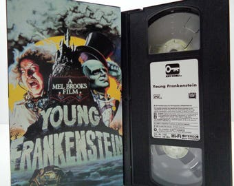 Young Frankenstein VHS Tape
