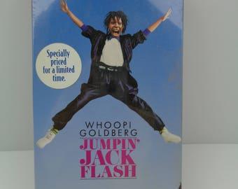jumpin jack Flash VHS Tape
