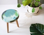 Concrete & European Oak Table (Earth)