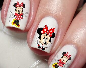 Disney nail decal   Etsy