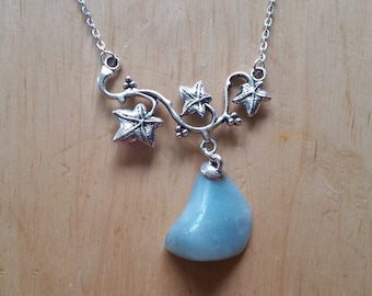 Celtic Necklace: genuine Amazonite