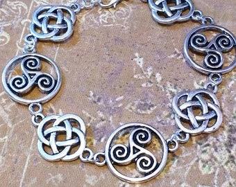 Bracelet Celtique : Mythes de Brécheliant