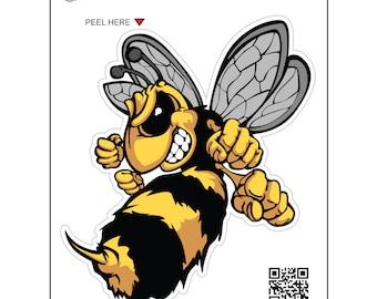 Hornet Decal Etsy