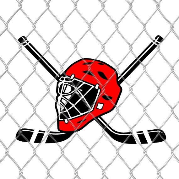 Hockey Mask Digital Cut File Hockey Mask Svg Clipart Hockey Mask Silhouette Svg Hockey Mask Svg Image