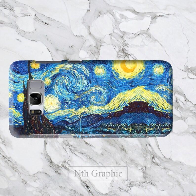 For Samsung S10 Plus Case Starry Night Van Gogh Galaxy S10 Lite S9 s8 Case,  Impressionism art iPhone X 8 iPod 6, 7+ 3D Cover designer artist