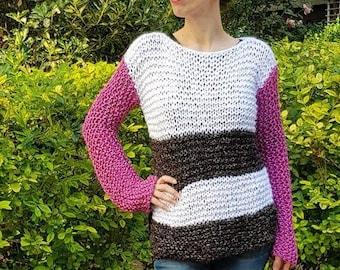 three colors Sweater