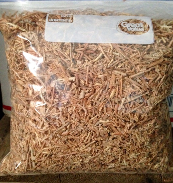 Aromatic  Red Cedar Wood  Shavings 1 gallon bag full repell bugs deodorize