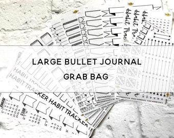 LARGE BULLET JOURNAL Grab Bag