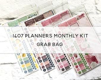 1407 PLANNERS B6 monthly kit Grab Bag