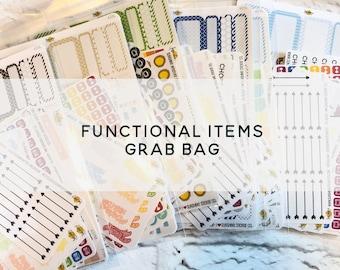 FUNCTIONAL ITEMS Grab Bag