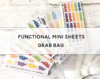 FUNCTIONAL MINI SHEETS Grab Bag
