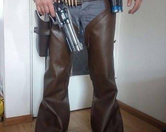 Mccree  cowboy leather pants +acc