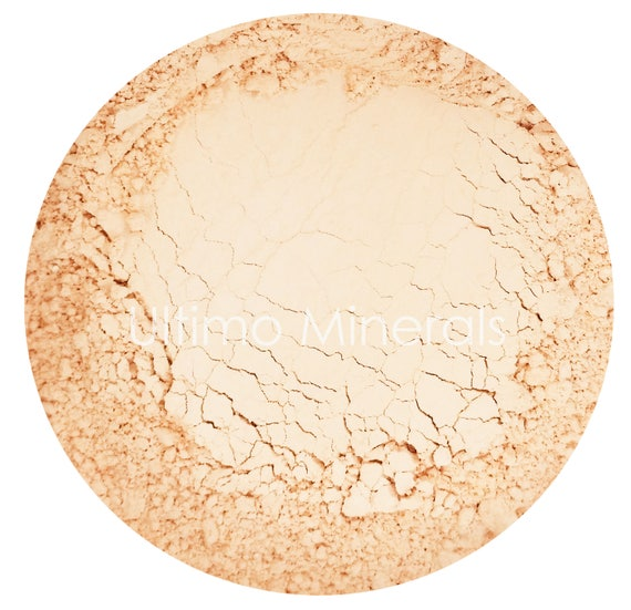 Ultimo Minerals FAIRLY NEUTRAL 1Oz. Refill 30 grams Full-Coverage Mineral Foundation - Soft Pearlescent Finish - FREE Shipping!