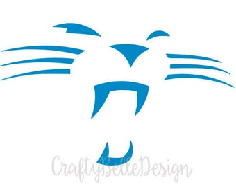 8ee0e2127 Carolina Panthers Decal