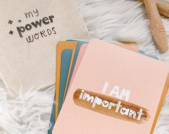 Affirmation Cards For Kids | Affirmations for Children | Positive Affirmation Cards | Mindfulness for Kids | Affirmation Cards