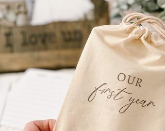 One Year Anniversary Gift | Paper Anniversary Gift | First Wedding Anniversary Gift