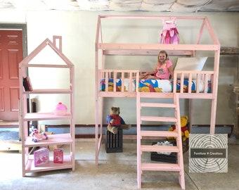 Cottage Loft Bed Etsy