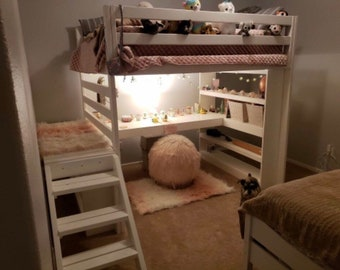 Custom Loft Bed Etsy