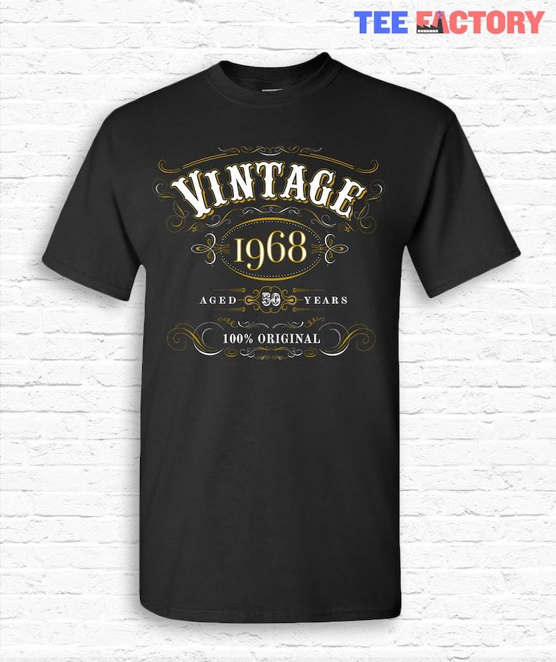 petit à 5XL Vintage 1969 Aged To Perfection 50th Anniversaire T-shirt!