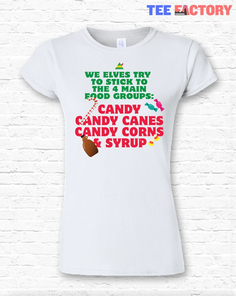 5//6 7 Elf Movie Quote I/'M A COTTON HEADED NINNY MUGGINS T-Shirt KIDS Sizes 4