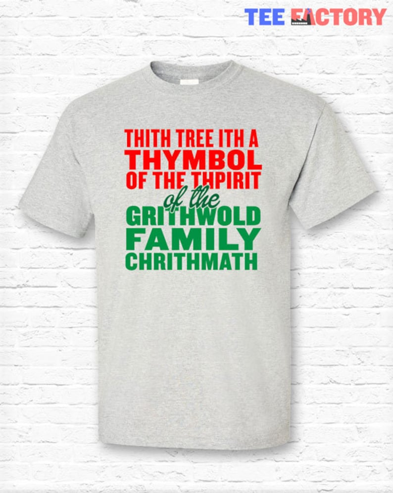 a3b3cdd8af Griswold Lisp Sap Quote Christmas Vacation Movie T-shirt | Etsy