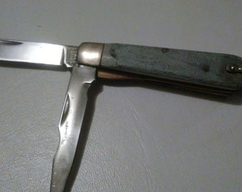 1970s kutmaster R3 2 blade pocket knife