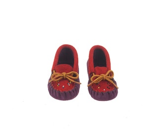 Authentic baby mocassins