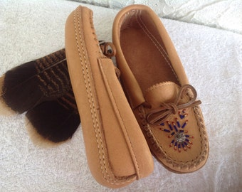 Mocassins style slippers
