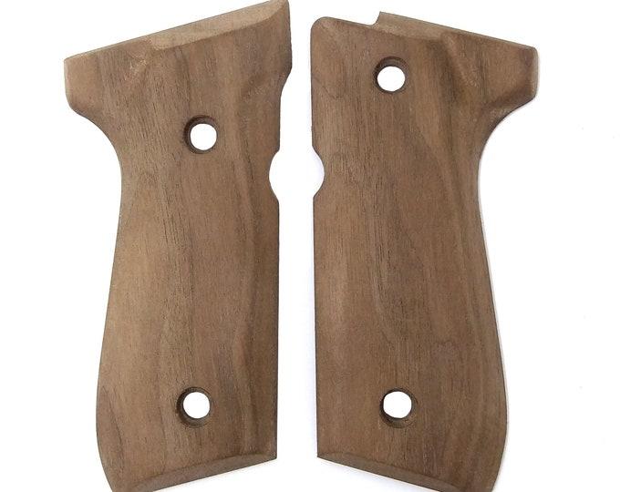 Beretta 92 Unfinished Walnut Grips