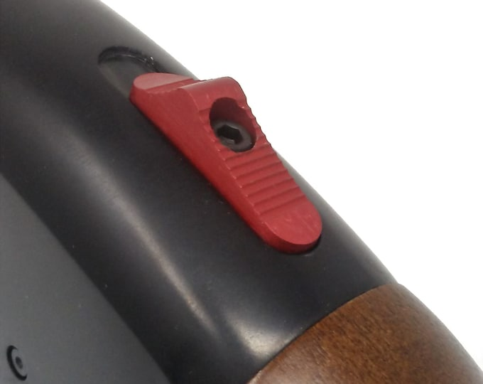 Enhanced Mossberg Safety for Mossberg 500/590 series shotguns Red