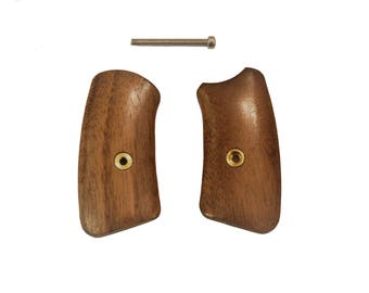 Ruger SP101 Walnut Grip Inserts