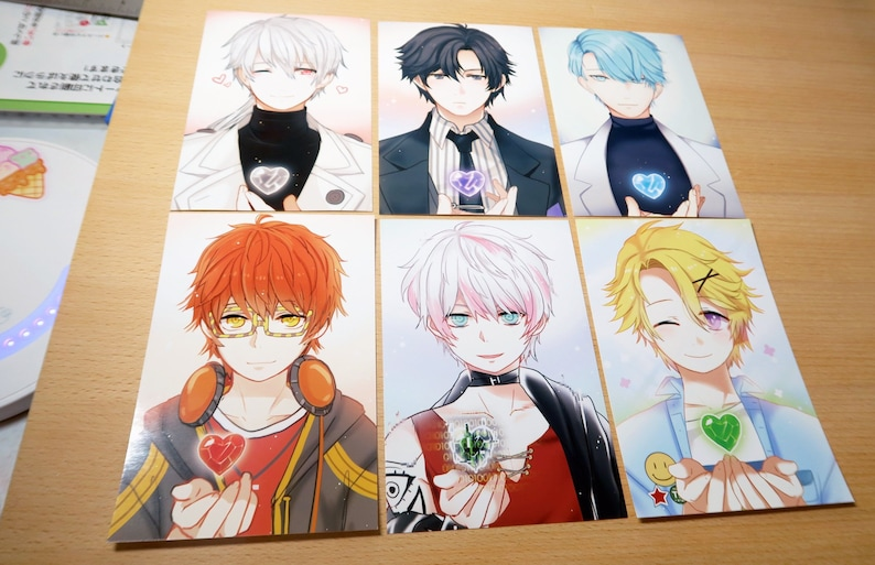 Mystic Messenger Prints Zen Jumin V 707 unknown Yoosung  99cdd1b967